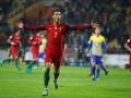 Роналду впервые забил за Португалию четыре гола в одном матче