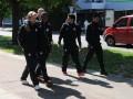 Люди в черном: Шахтер прогулялся по Черкассам перед битвой со Славутичем (фото)