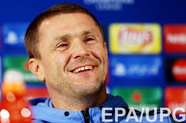 Ребров: У «Динамо» сильная группа вЛЧ, будет интересно