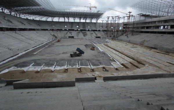 Так Арена Львов выглядела еще в июле 2011 года