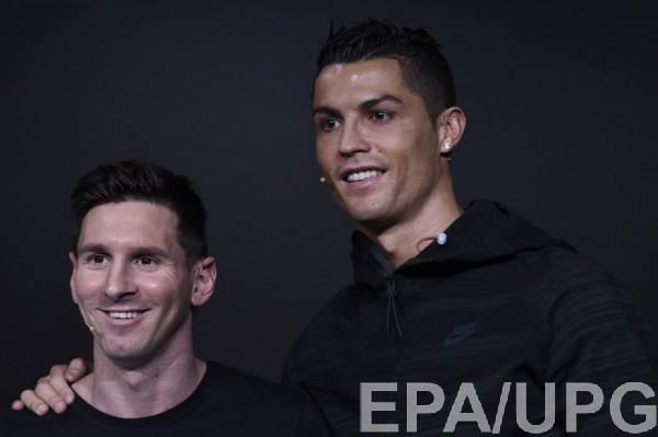 Роналду: еслибы играл сМесси, имелбы больше Золотых мячей