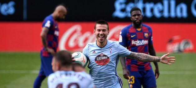 Барселона потеряла очки в матче против Сельты