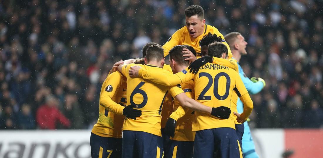 Атлетико добыл разгромную победу в матче ЛЕ с Копенгагеном