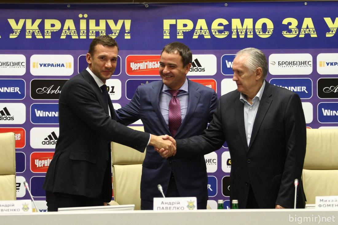 Андрей Шевченко отныне будет помогать главному тренеру Николаю Фоменку