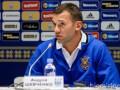 Шевченко: Три матча дали немало и позитивной, и негативной информации