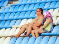 Фотогалерея: Как болельщики и птички на киевский Арсенал ходили