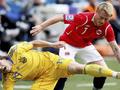 Лидер сборной Норвегии считает, что у Коноплянки большое будущее