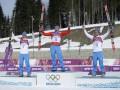 Российские лыжники