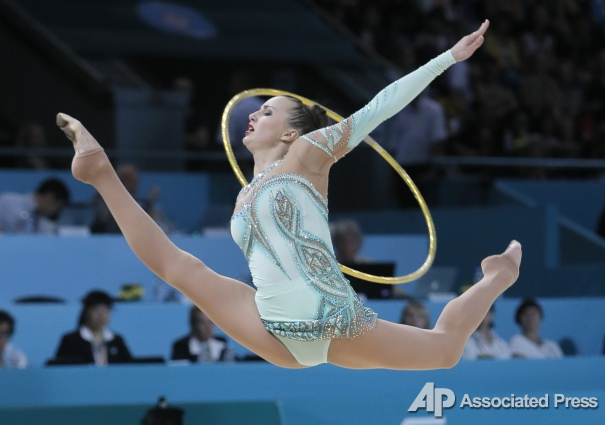 Украинская гимнастка Ризатдинова выиграла 5 золотых медалей в Лос-Анджелесе - Цензор.НЕТ 5056