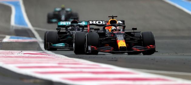 Ферстаппен одержал победу на Гран-при Франции