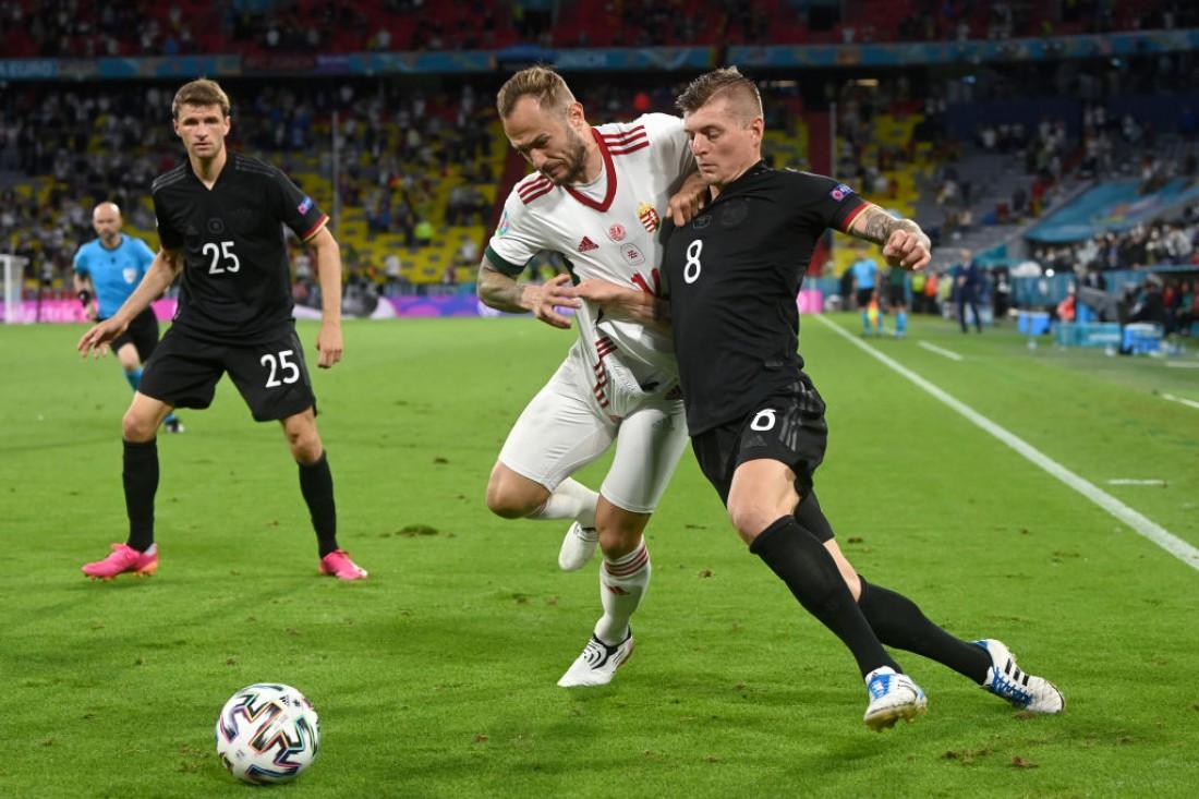 Сборная Германии - сборная Венгрии