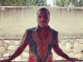 Беленюк примерял образ руандийского школьника