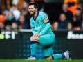 Месси повторил личный антирекорд в матче с Валенсией