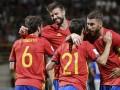 Испания - Лихтенштейн 8:0 Видео голов и обзор матча отбора на ЧМ-2018