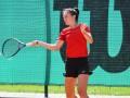 Лопата стала полуфиналисткой на первом в карьере профессиональном турнире