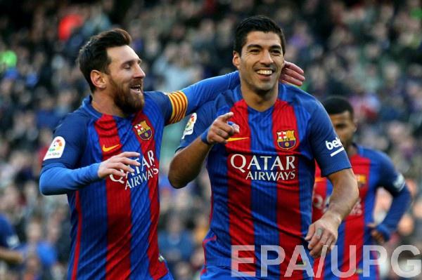 «Барселона» разгромила «Лас-Пальмас» вматче 18-го тура чемпионата Испании пофутболу