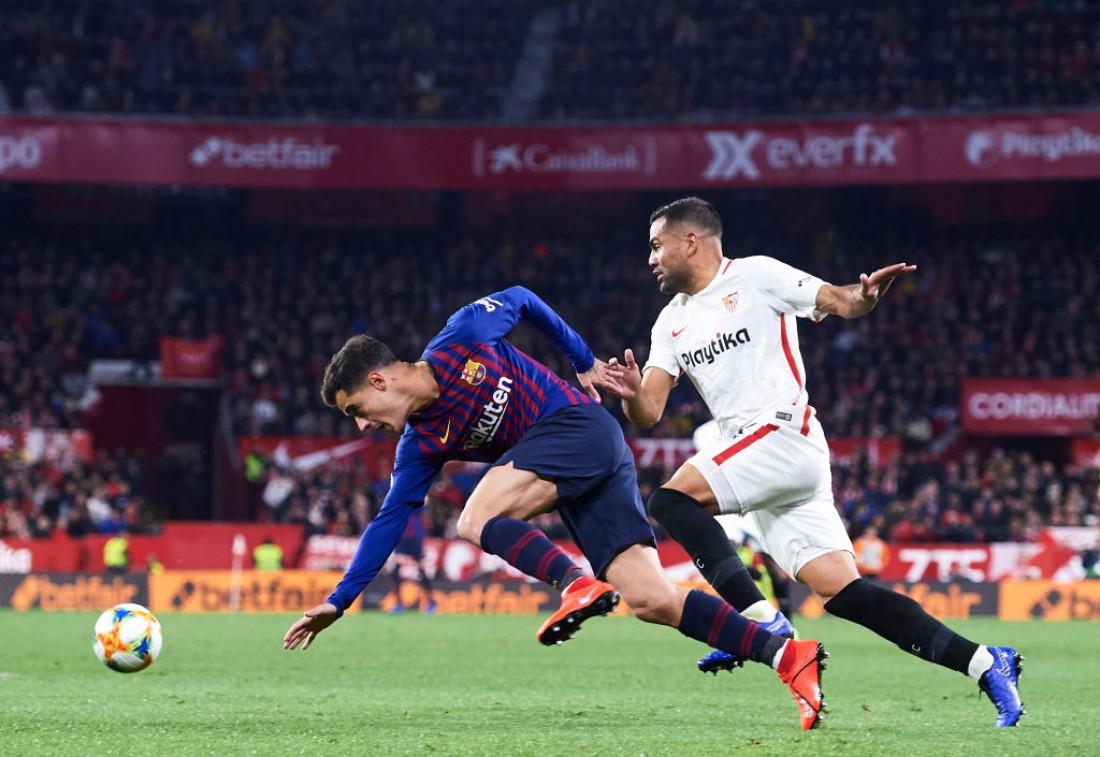 Севилья - Барселона: видео голов и обзор матча