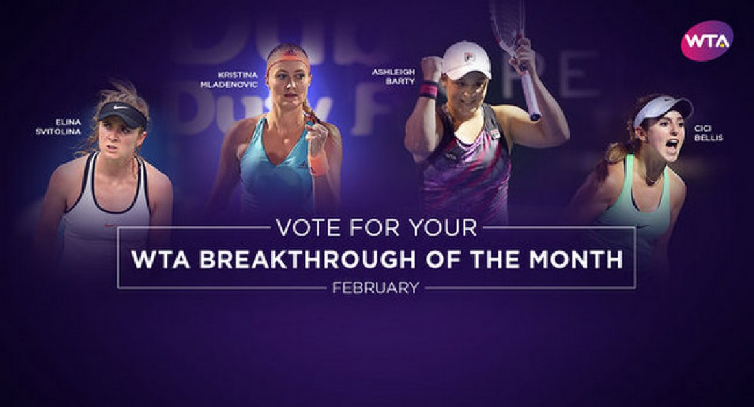 Лучшая теннисистка Украины Свитолина претендует надве награды WTA