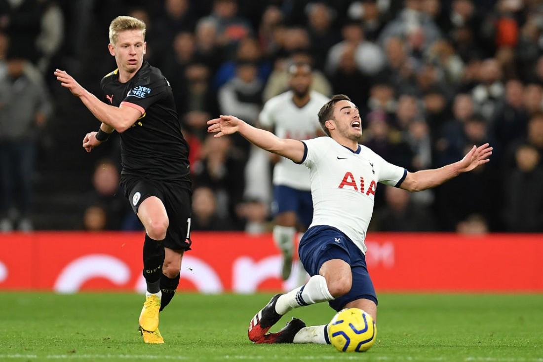 Тоттенхэм - Манчестер Сити: видео голов и обзор матча