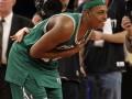 NBA. Бостон вырывает победу у Никс