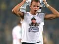 УЕФА оштрафовал российского футболиста за футболку с Путиным