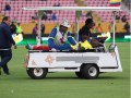 Эквадорский футболист скрылся от полиции, прикинувшись больным во время матча