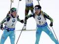 Биатлон: Женская сборная Украины остановилась в шаге от медалей