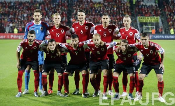 Участник Евро-2016 - сборная Албании