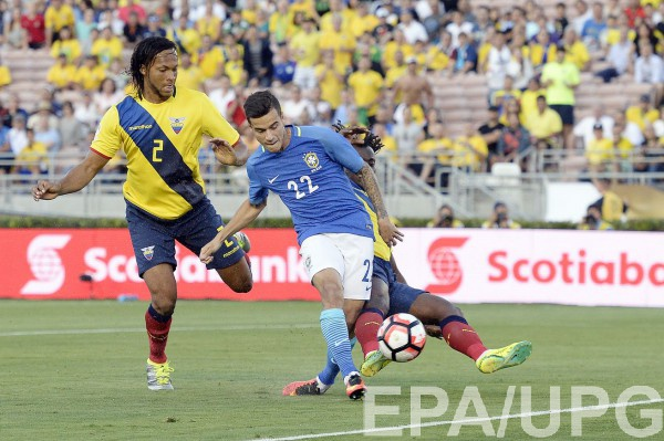 Бразилия не забила Эквадору