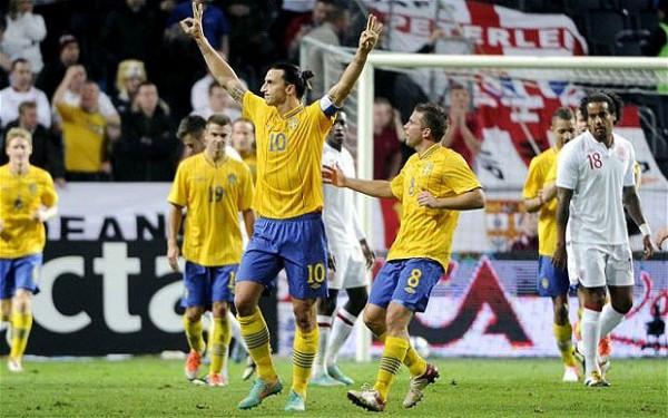 Златан Ибрагимович забил лучший гол 2013 года