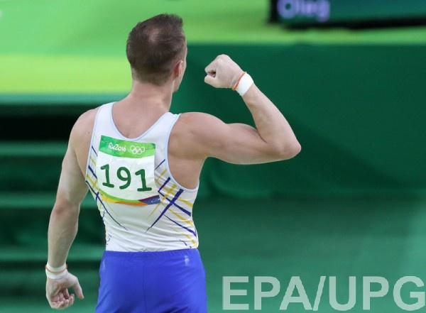 Верняев занял восьмое место в соревнованиях на перекладине