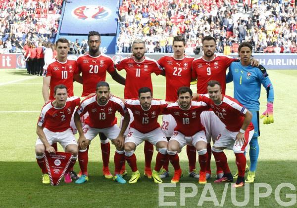 Швейцария - Франция: стартовые составы