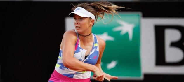 Свитолина с крахом уступила Вондроушовой в 1/4 турнира в Риме