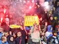 Пламенный привет: Фанаты Динамо хором спели песню про Путина (видео)