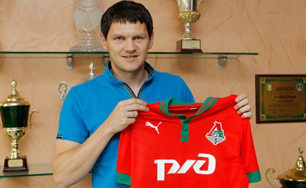 Тарас Михалик - игрок Локомотива