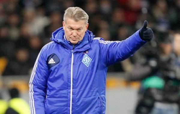 Олег Блохин признан лучшим украинским тренером