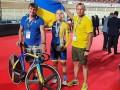 Украинка Билецкая выиграла две медали юниорского ЧМ по трековым велогонкам