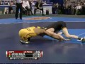 Студенческий чемпионат США по борьбе выиграл одноногий спортсмен