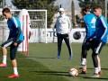 Зидан провел первую тренировку после возвращения в Реал