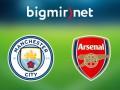 Манчестер Сити - Арсенал 2:1 Трансляция матча чемпионата Англии