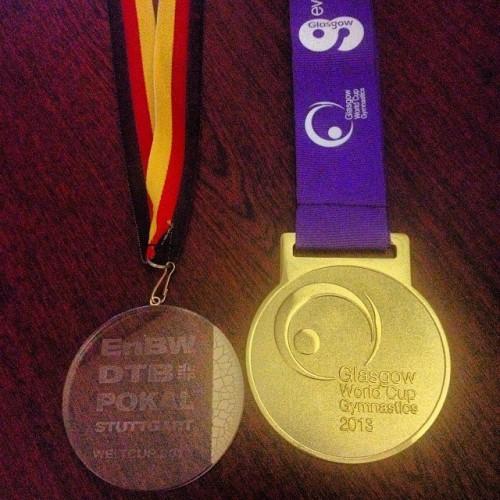 Два золота за победы на Кубке мира