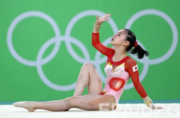 Японских гимнастов сравнили с покемонами