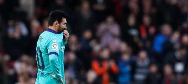 Барселона потерпела первое поражение при новом тренере