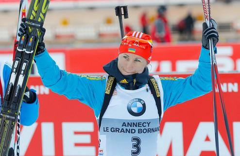 Валя Семеренко вырвалась в лидеры Кубка мира