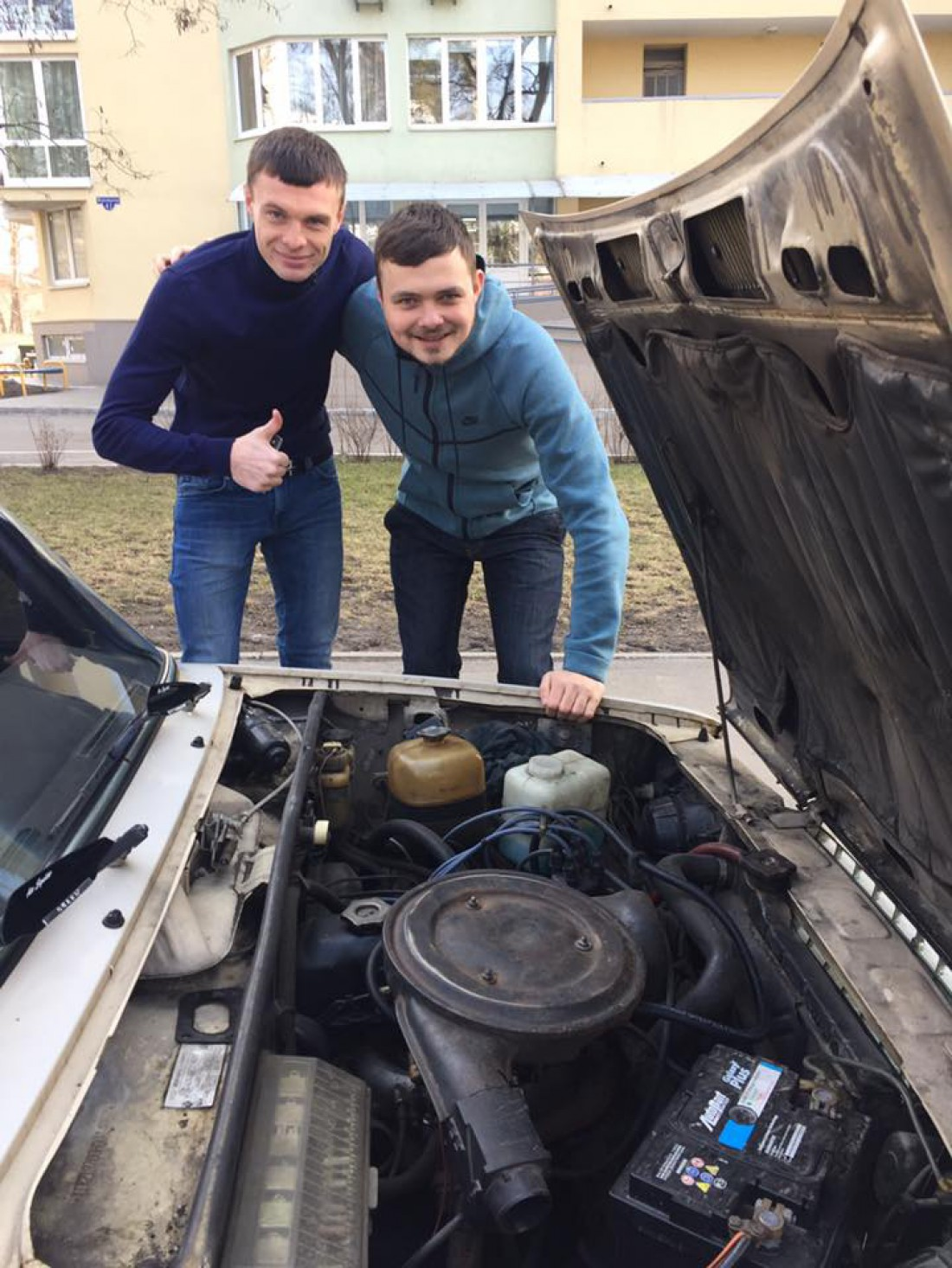 Максим Каленчук и Роман Бебех