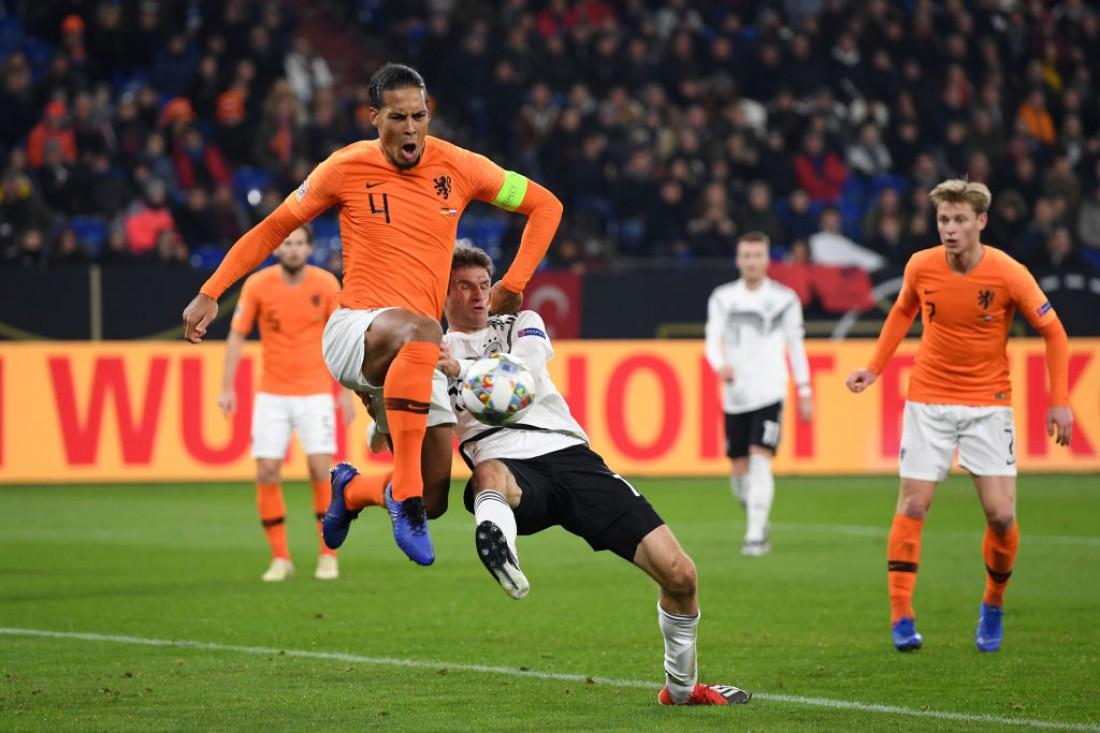 Германия - Нидерланды: видео голов и обзор матча Лиги наций