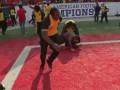 В США стюарды избили болельщиков, праздновавших победу команды в чемпионате