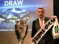 Виталий Кличко побоксировал у кубка Лиги чемпионов