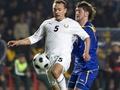 Нападающий сборной Казахстана не сыграет против Украины