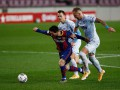 Валенсия сенсационно отобрала очки у Барселоны
